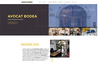 Exemplu website Manifest Media - AvocatBodea.ro
