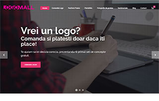Exemplu website Manifest Media - LogoMall