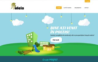 Exemplu website Manifest Media - Poleis
