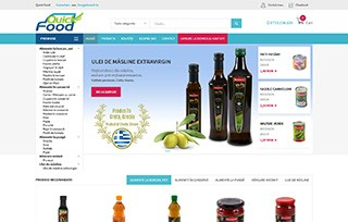 Exemplu magazin ecommerce Manifest Media - QuickFood